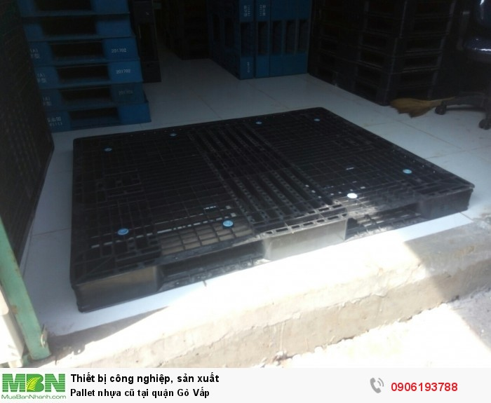 Pallet nhựa cũ tại quận Gò Vấp - Hotline: 0906193788 (24/24) - Bao vận chuyển lấy số lượng