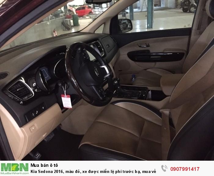 Kia Sedona 2016, màu đỏ, xe cực đẹp!!