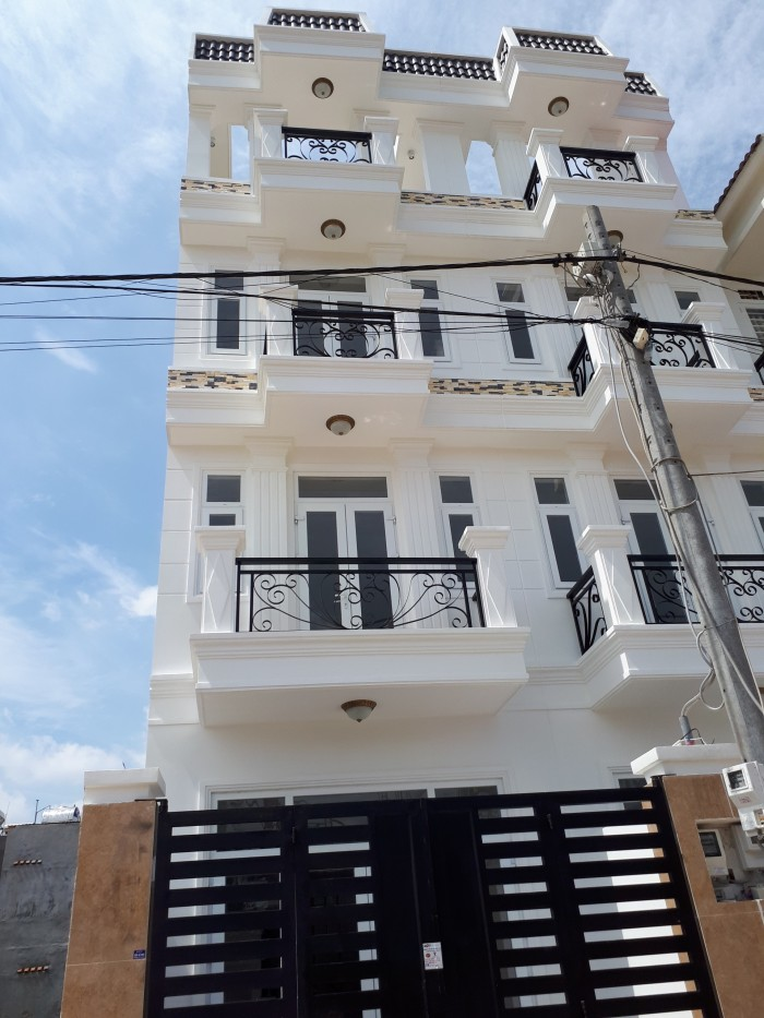 Nhà mới, sổ hồng riêng đường Tô Ngọc Vân hẻm 8m ngay cầu vượt Ngã Tư Ga