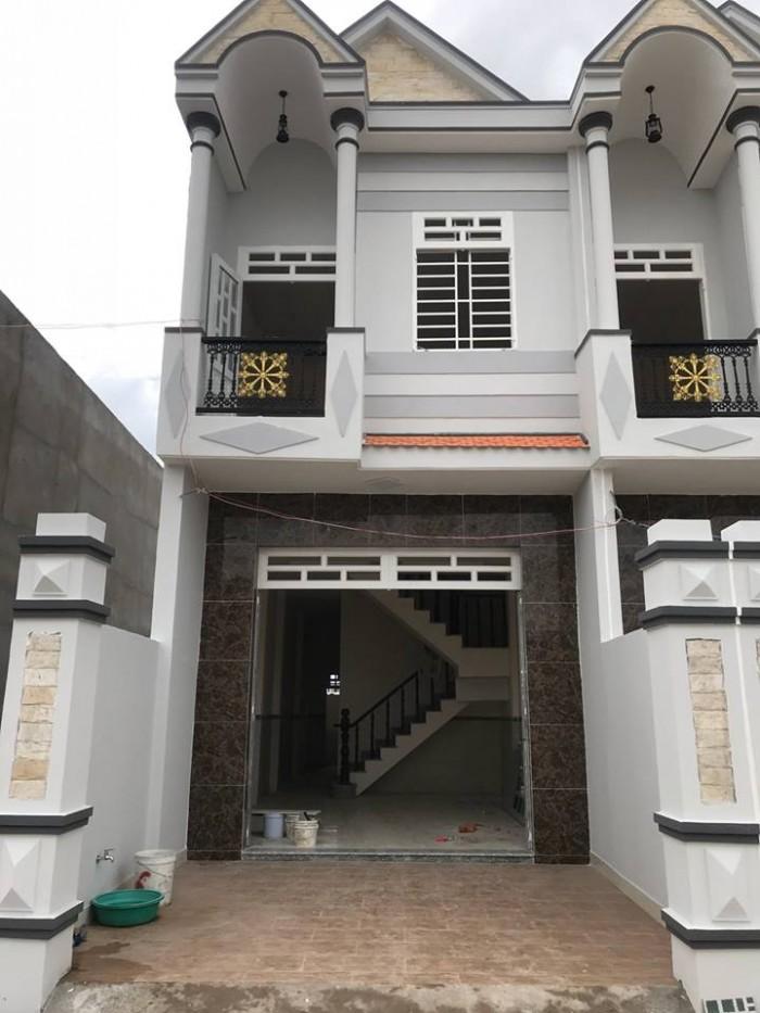 ***AN CƯ LẬP NGHIỆP*** Nhà mới xây 1 trệt 1 lầu đẹp, kiên cố, 82m2, sổ hồng riêng chính chủ