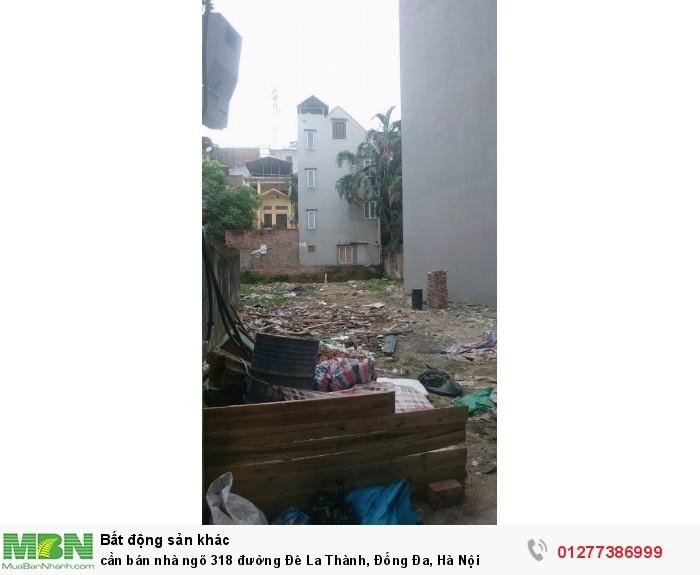 Cần bán nhà ngõ 318 đường Đê La Thành, Đống Đa, Hà Nội