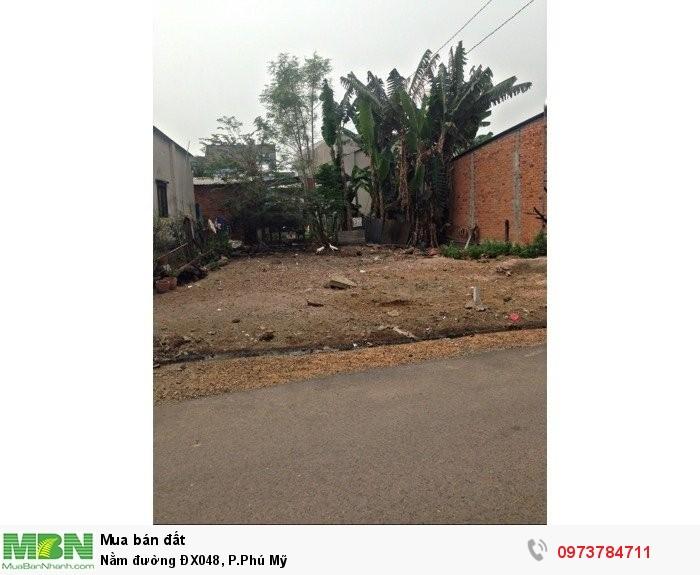 Nằm đường ĐX048, P.Phú Mỹ