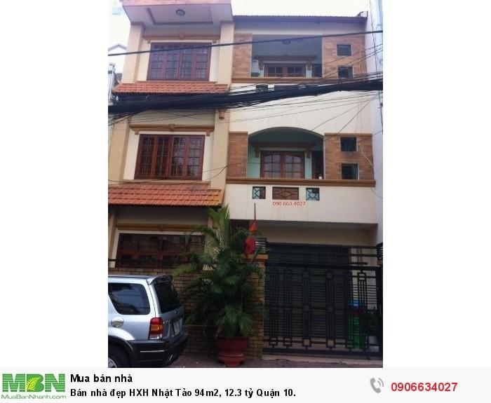 Bán nhà đẹp HXH Nhật Tảo 94m2, Quận 10.