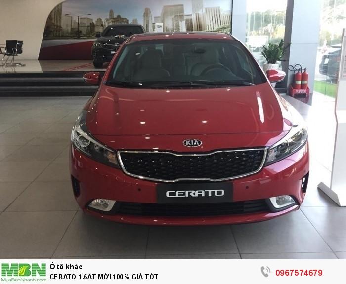 Giá xe Cerato 1.6At Mới 100% Giá Tốt 0