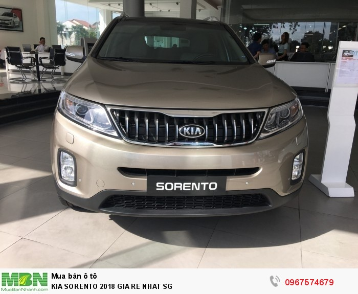 Kia Sorento 2018 giá rẻ nhất Sg