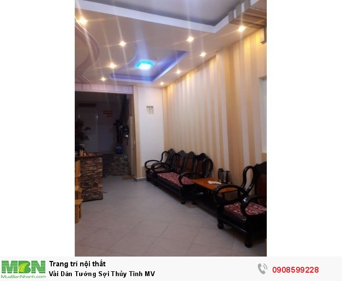 Vải Dán Tường Sợi Thủy Tinh MV1