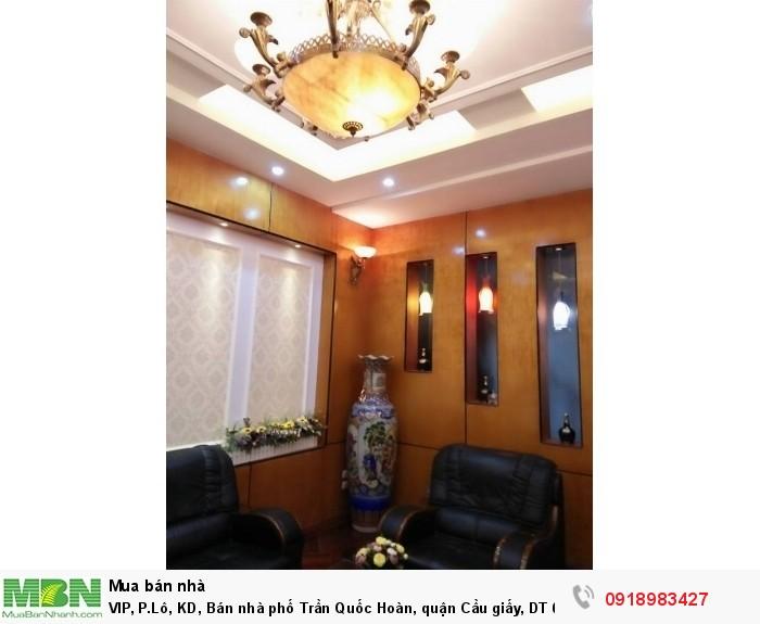 VIP, P.Lô, KD, Bán nhà phố Trần Quốc Hoàn, quận Cầu giấy, DT 68m, 5T