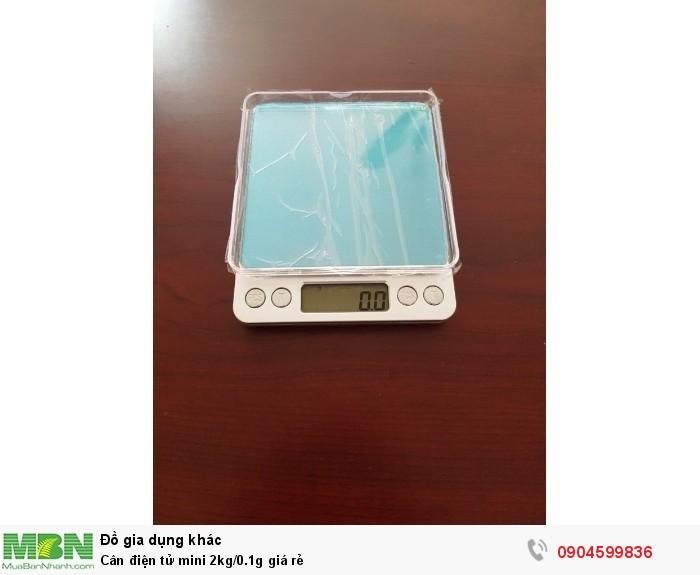 Cân tiểu ly Table Topscale 2kg/0.1g0