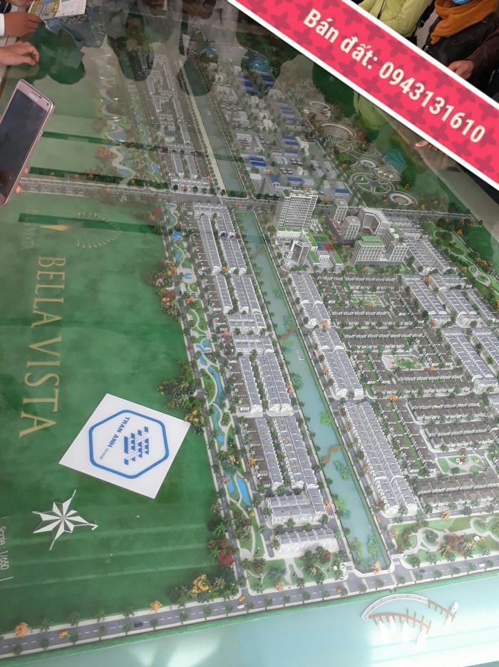 Mua ngay đất nền giá rẻ nhất thị trường BĐS diện tích 4x14, 4x15 mặt tiền khu đô thị Bella Vista