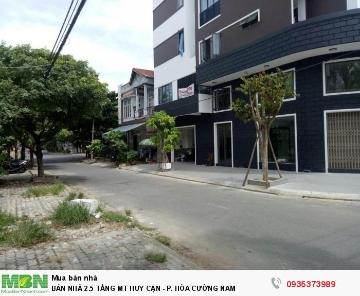 Bán Nhà 2.5 Tầng Mt Huy Cận - P. Hòa Cường Nam