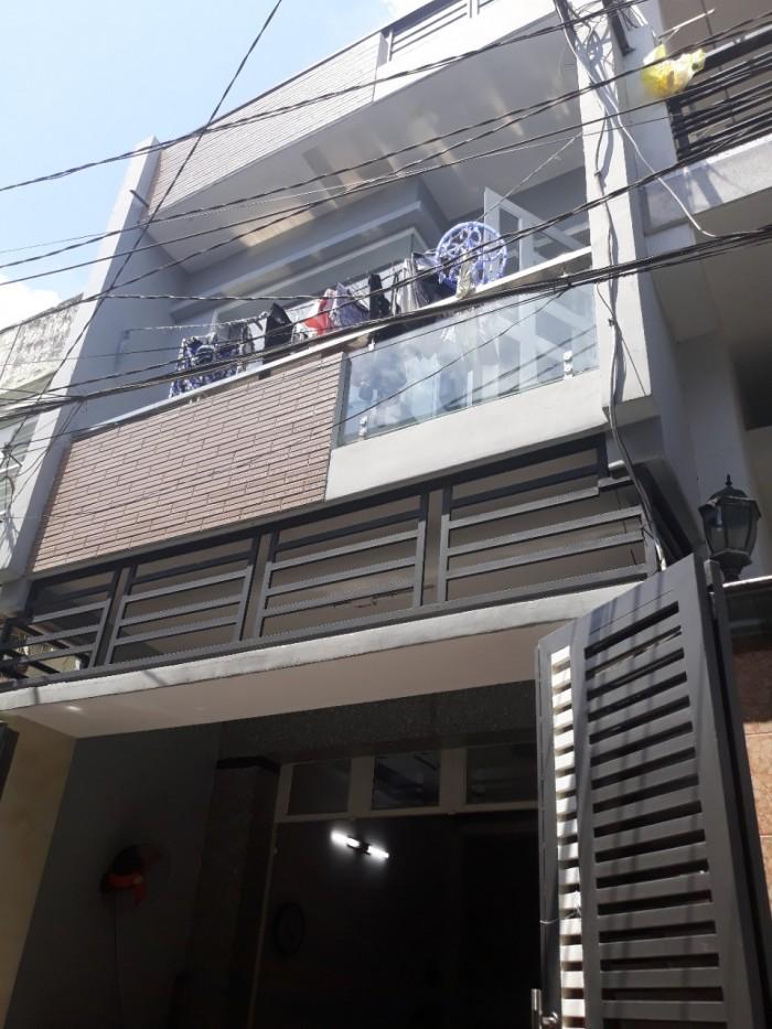 Nhà Hẻm 5m Tân Hương, Dt 4*12m