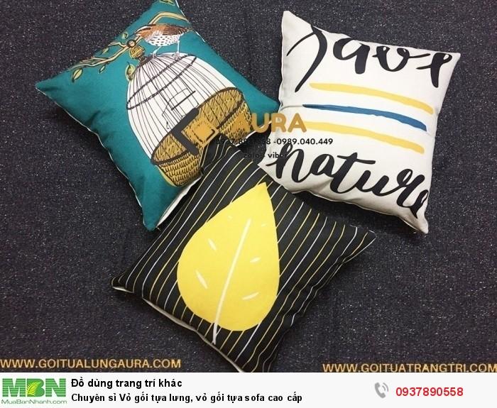 Gối tựa trang trí AURA chuyên cung cấp đệm ngồi bệt và gối tựa lưng dùng để trang trí nhà cửa, phòng khách, đặc biệt là cung cấp cho các quán cafe, trà sữa, văn phòng.  Các sản phẩm gối tựa được làm từ vải bố cavas hay còn gọi là vải lanh với độ bền cao, giúp cho gối luôn mới có thể vệ sinh dễ dàng sau một thời gian dài sử dụng. Ruột gối bông gòn cao cấp, có thể giặt mà không bị vón cục không thể tái sử dụng.  Về đệm ngồi bệt bên mình là ruột bằng đệm gòn nén, nên giặt , cho vào máy sấy và phơi đệm vào những ngày nắng để đệm nhanh khô nhé. Loại đệm ngồi này hiện nay rất được ưa chuộng vì đệm ngồi rất êm lại không bị lún, xẹp hay gây nóng như đệm cao su thông thường, giá cả lại rất mềm nữa nhé.  AURA luôn cập nhật mẫu mới với những kiểu dáng màu sắc sang trọng, bắt mắt và không ngừng cải tiến chất lượng sản phẩm, mang lại sự hài lòng cho tất cả khách hàng đã tin tưởng và chọn mua gối tựa và đệm ngồi bệt của AURA  Đệm ngồi bệt AURA có nhiều màu sắc trang nhã, đa dạng về phong cách,tham khảo thêm rất nhiều sản phẩm trên website GỐI TỰA TRANG TRÍ COM hoặc fanpage GỐI TỰA LƯNG AURA HOẶC ĐỆM NGỒI BỆT - NỆM NGỒI AURA đệm ngồi có vỏ bọc tháo rời, có khóa kéo, rất tiện vệ sinh sạch sẽ, nhanh khô, không bị ẩm mốc như đệm may liền vỏ thông thường  GIÁ CỰC TỐT CHO ANH CHỊ MUA SỐ LƯỢNG NHIỀU MẪU MỚI ĐA DẠNG PHONG CÁCH  vui lòng liên hệ HOTLINE:0989.040.449 - 0937.890.558 để được hỗ trợ tư vấn.  CHÂN THÀNH CẢM ƠN QUÝ KHÁCH ĐÃ TIN DÙNG VÀ ỦNG HỘ SẢN PHẨM CỦA AURA MẾN CHÚC QUÝ KHÁCH LUÔN HẠNH PHÚC VÀ THÀNH CÔNG2