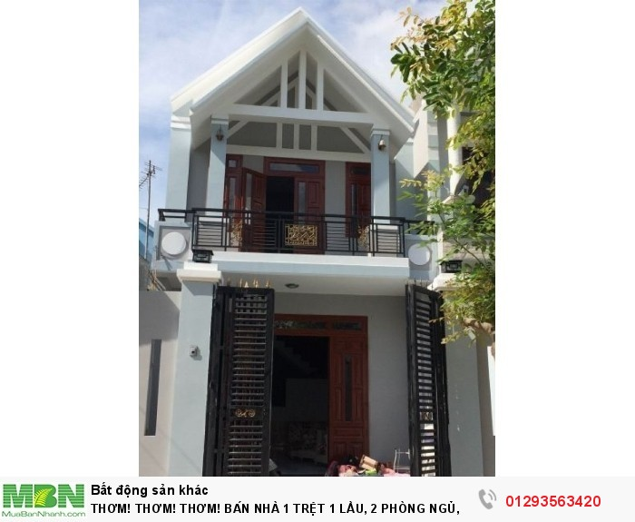 Bán Nhà 1 Trệt 1 Lầu, 2 Phòng Ngủ, 1 Wc, Chính Chủ, Mt Nguyễn Văn Quá, Quận 12