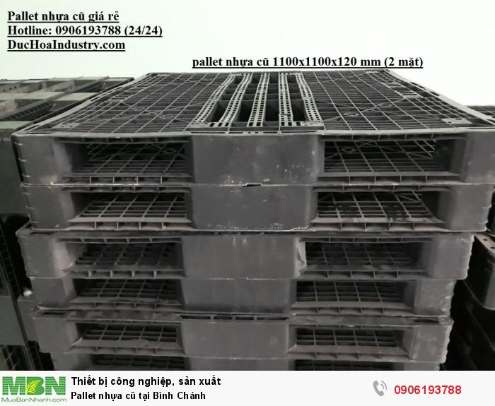 Pallet nhựa cũ tại Bình Chánh, miễn phí vận chuyển - Hotline: 0906193788 (24/24)1