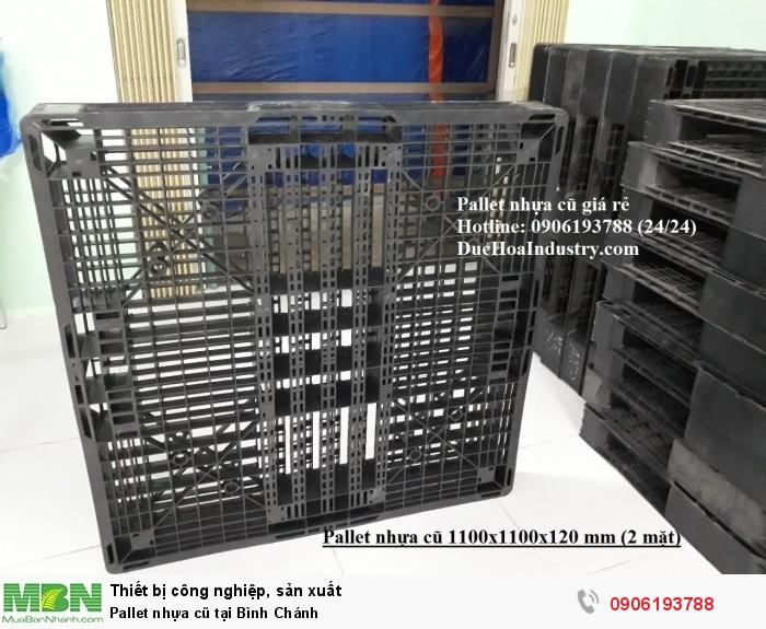 Pallet nhựa cũ tại Bình Chánh, giao hàng toàn quốc - Hotline: 0906193788 (24/24)2