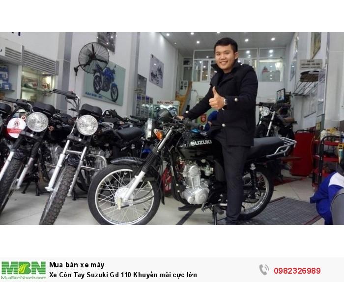 Xe Côn Tay Suzuki Gd 110 Khuyến mãi cực lớn 0
