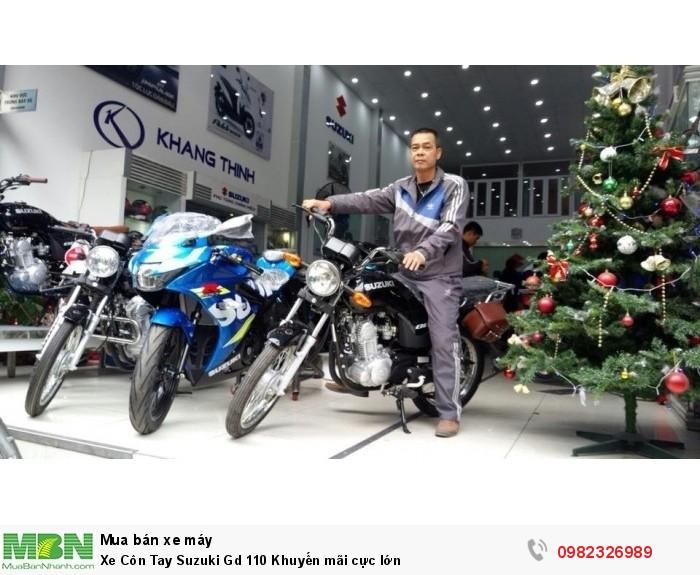 Xe Côn Tay Suzuki Gd 110 Khuyến mãi cực lớn 1