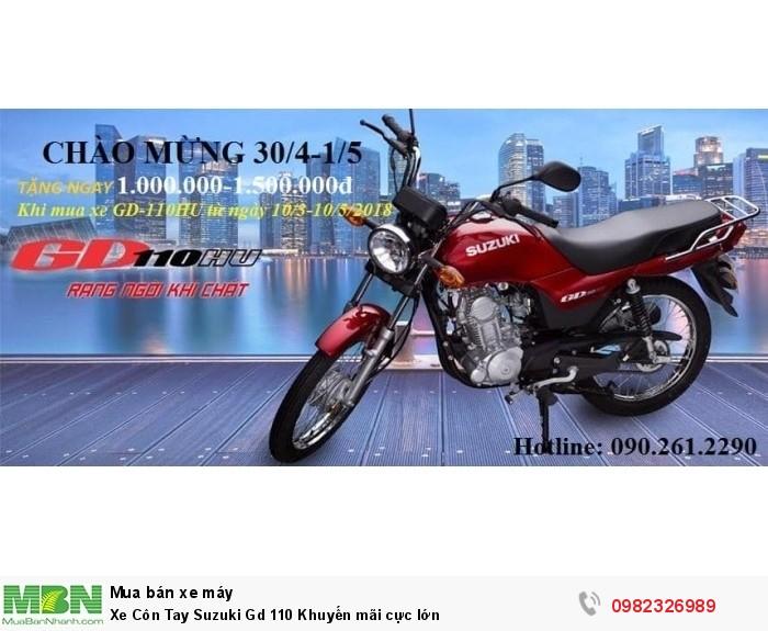 Xe Côn Tay Suzuki Gd 110 Khuyến mãi cực lớn 2