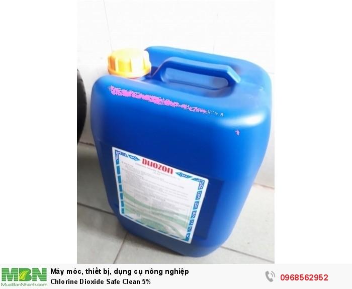 Chlorine Dioxide 5%- Duozon Hàn Quốc