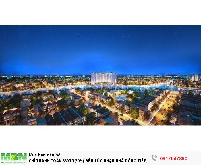 Sở hữu ngay căn hộ cao cấp 100% view sông, giá: 1.1 tỷ/2PN, duy nhất tại Đông Bắc SG.