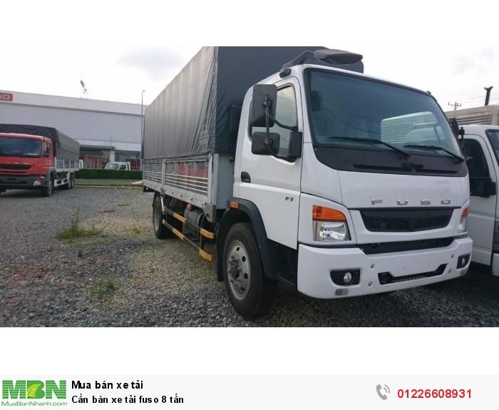 Cần bán xe tải Fuso 8 tấn