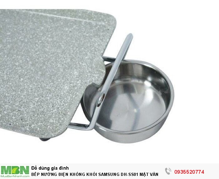 Bếp Nướng Điện Không Khói Samsung Dh-Ss01 Mặt Vân Đá Gang Nguyên Khối2
