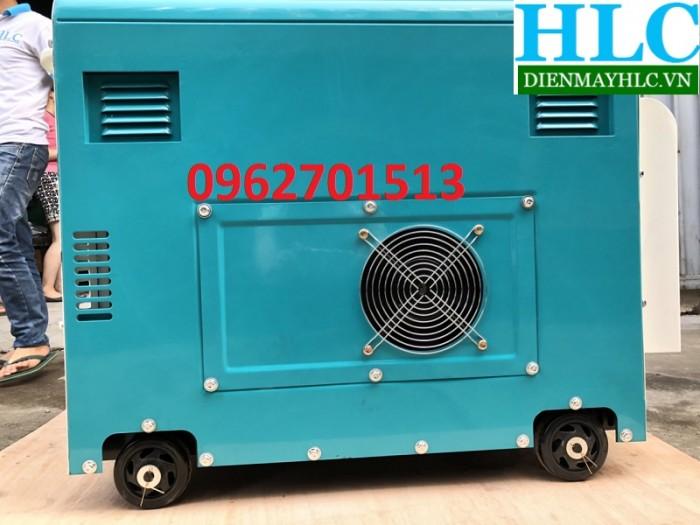 Máy phát điện chạy dầu Tomikama HLC 8500 cách âm chống ồn tiết kiệm nhiên liệu4