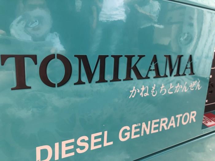 Máy phát điện chạy dầu Tomikama HLC 8500 cách âm chống ồn tiết kiệm nhiên liệu2