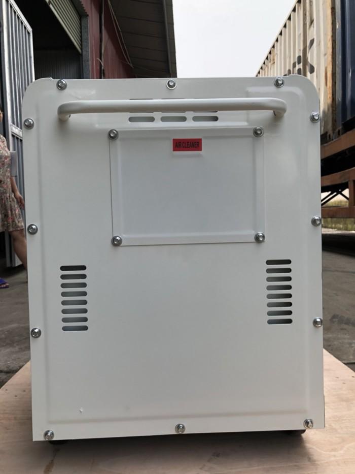 Máy phát điện chạy dầu Tomikama HLC 8500 cách âm chống ồn tiết kiệm nhiên liệu1