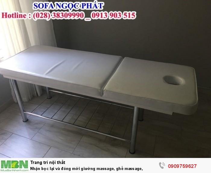 Đóng mới giường massage, ghế massage. Giường massage. Ngọc Phát Hcm.1