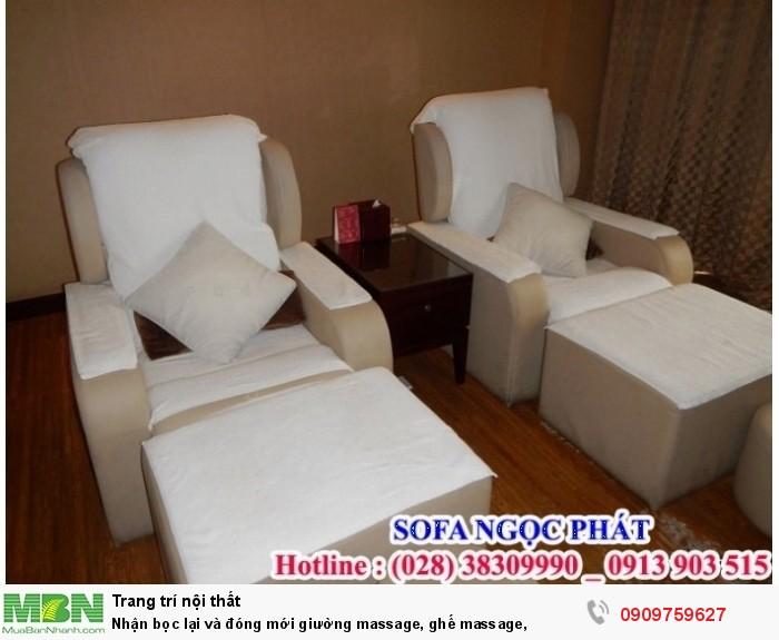 Đóng mới giường massage, ghế massage. Giường massage. Ngọc Phát Hcm.3