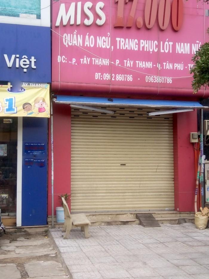 Bán nhà MT Đường Tây Thạnh.Q,Tân Phú