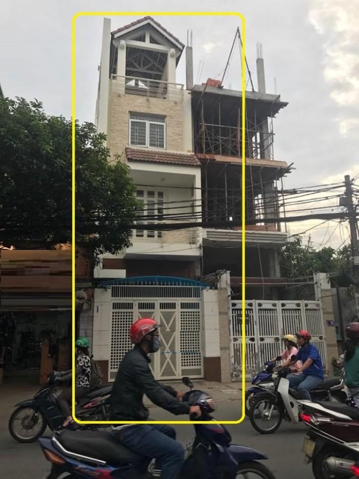 Cho thuê nhà MT Phổ Quang, p.2, Tân Bình dt 4x20m