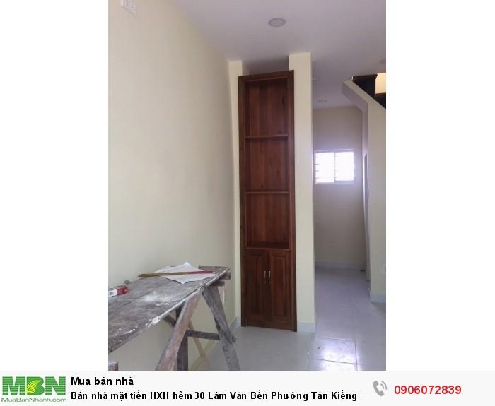 Bán nhà mặt tiền  HXH hẻm 30 Lâm Văn Bền Phường Tân Kiểng Q7, DT40m