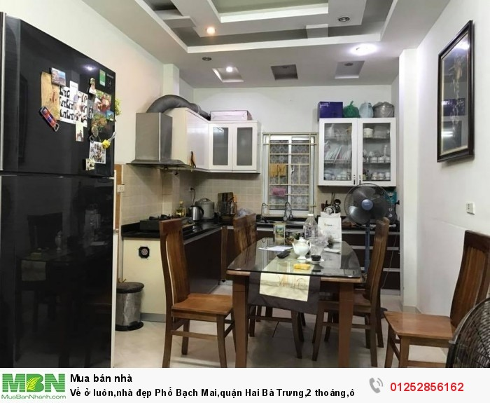 Về ở luôn,nhà đẹp Phố Bạch Mai,quận Hai Bà Trưng,2 thoáng,ô tô vào nhà