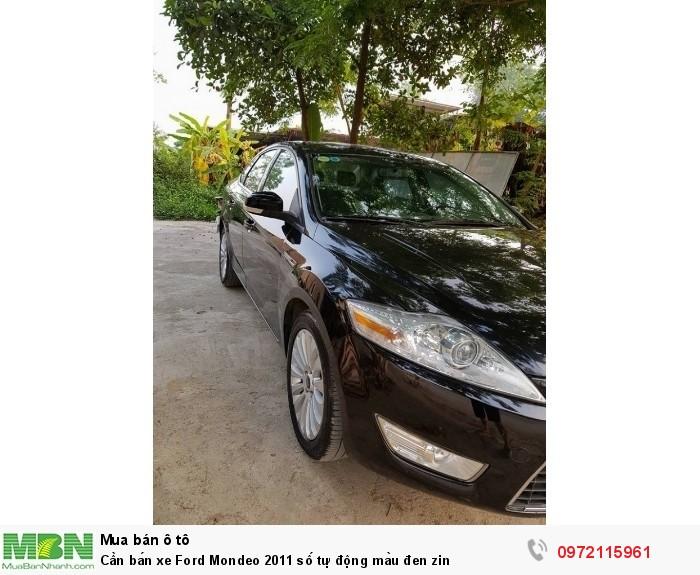 Cần bán xe Ford Mondeo 2011 số tự động màu đen zin