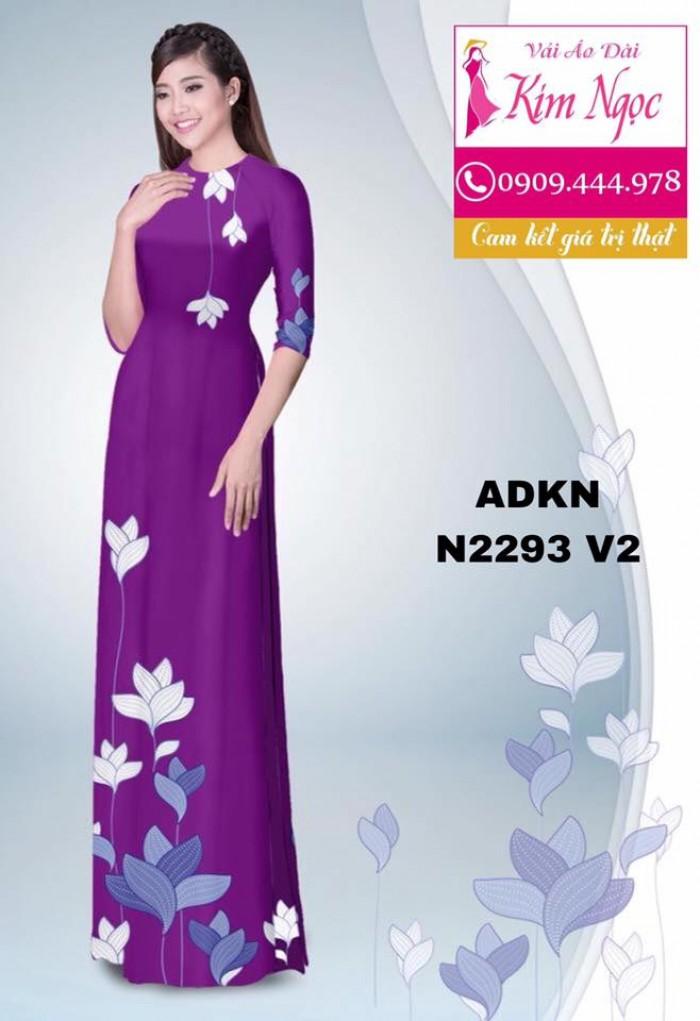 Vải áo dài đẹp ADKN N22938