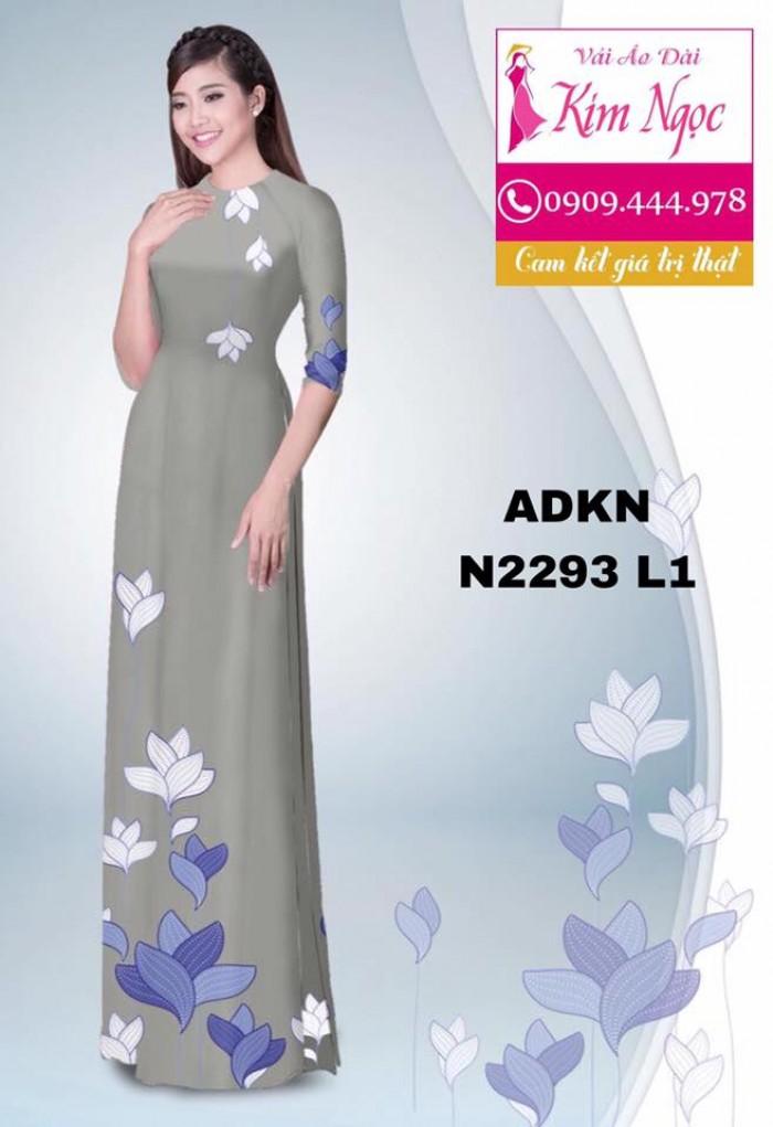Vải áo dài đẹp ADKN N22937