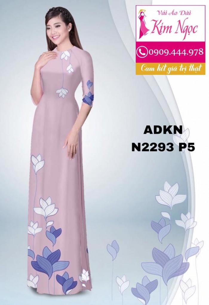 Vải áo dài đẹp ADKN N22935