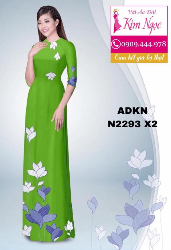 Vải áo dài đẹp ADKN N22936