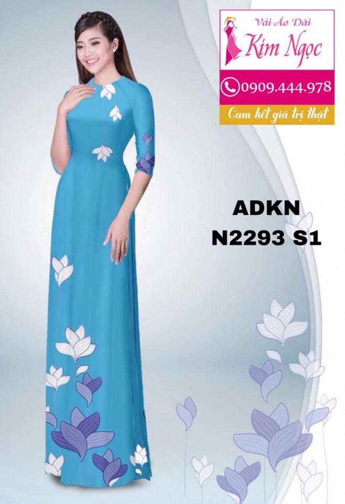 Vải áo dài đẹp ADKN N22934