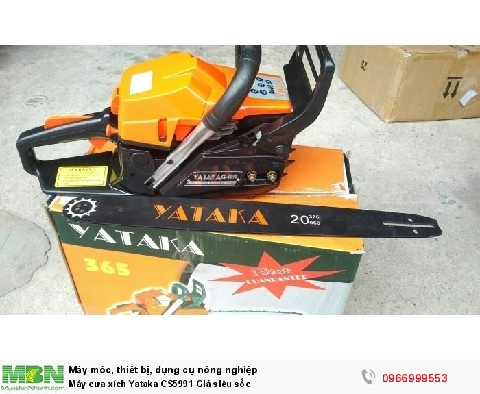 Máy cưa xích Yataka CS5991 Giá siêu sốc0