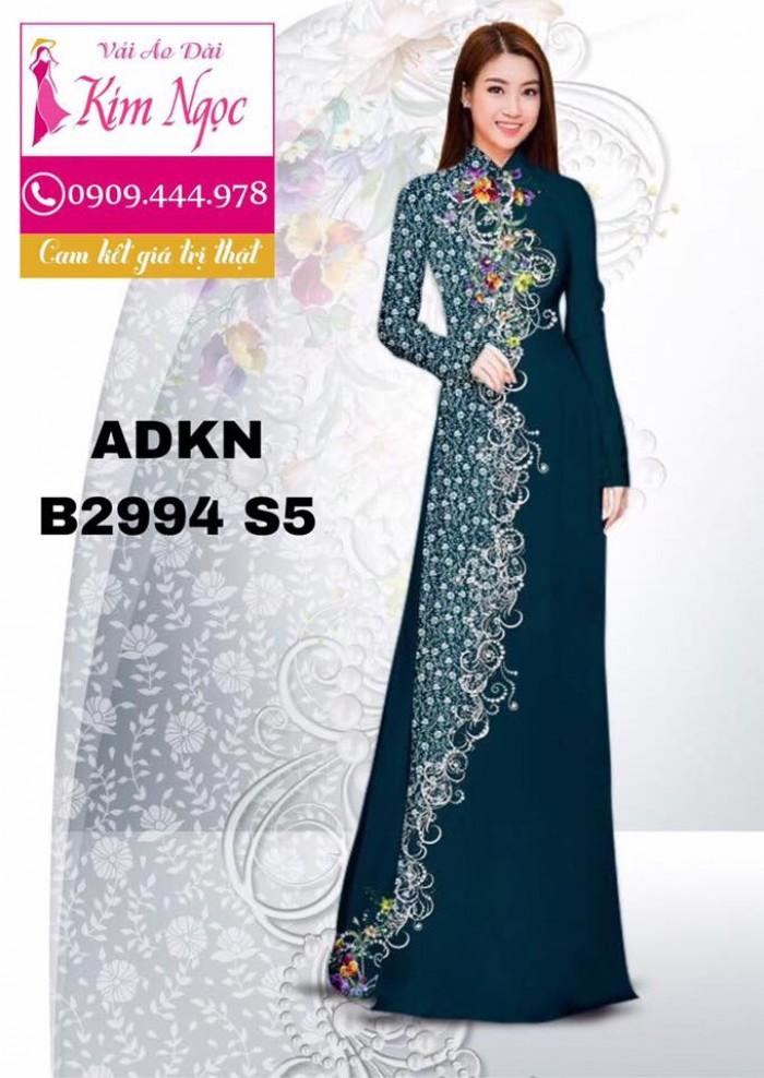 Vải áo dài in 3D B299412