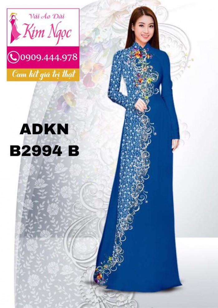Vải áo dài in 3D B299415
