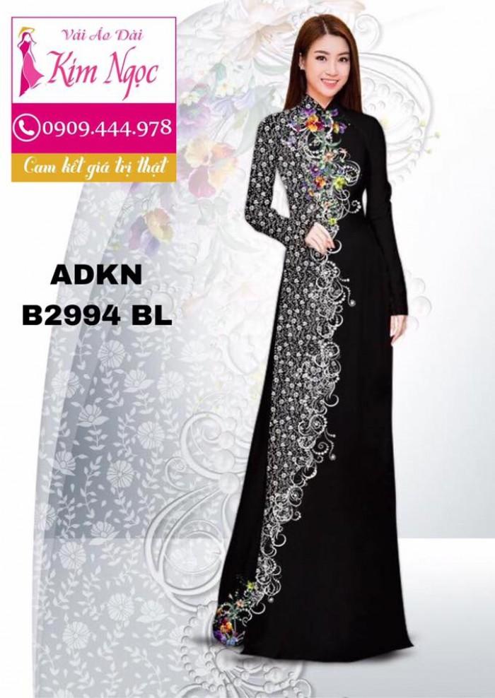 Vải áo dài in 3D B29946