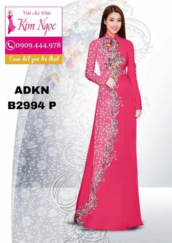 Vải áo dài in 3D B299414