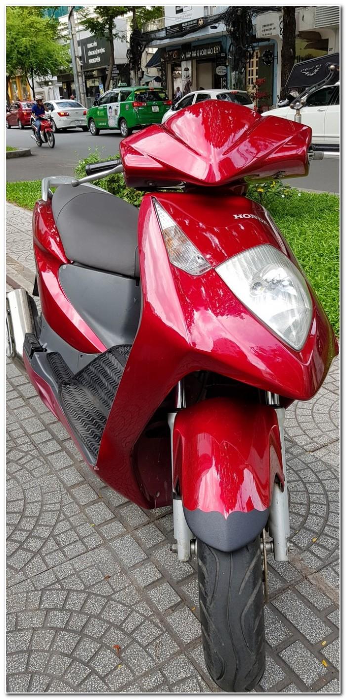 Honda Dylan 150 đỏ đô đời cuối