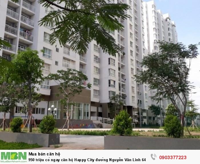 Căn hộ 64 m2, tại Happy City đường Nguyễn Văn Linh _gần cầu Bà Lớn và Quốc lộ 50