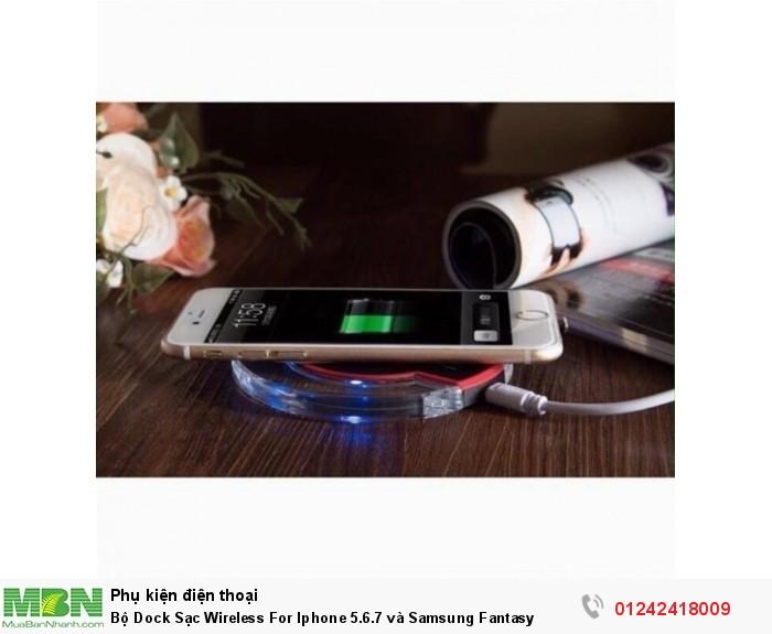 Bộ Dock Sạc Wireless For Iphone 5.6.7 và Samsung Fantasy1