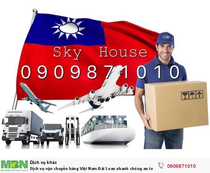 Dịch vụ vận chuyển hàng Việt Nam - Đài Loan nhanh chóng an toàn giá cả hợp lý